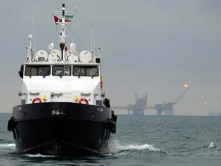ספינה אירנית (צילום: חדשות 2)