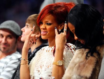 ריהאנה חוגגת יום הולדת (צילום: Kevork Djansezian, GettyImages IL)