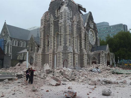 רעידת האדמה הקודמת בניו זילנד. ארכיון (צילום: מתן עדי, גולש חדשות 2 בפייסבוק)