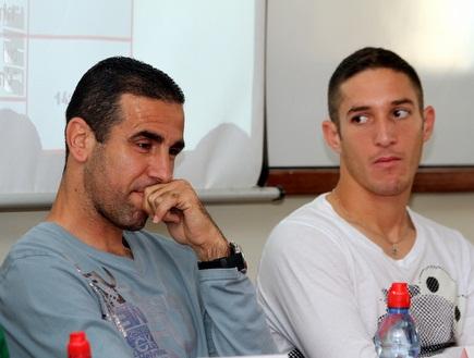 וואליד באדיר ואלרואי כהן באירוע (מור שאולי) (צילום: מערכת ONE)