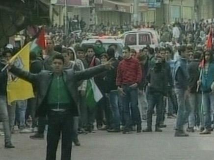 מהומות בחברון (צילום: חדשות 2)