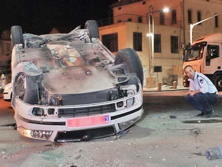 תאונת דרכים, ארכיון (צילום: שי וקנין)
