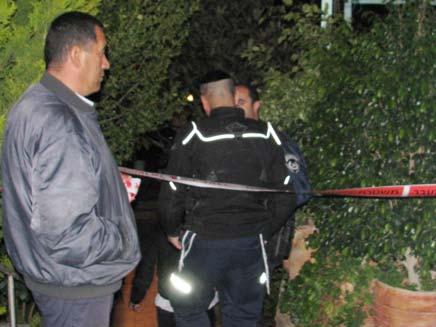 זירת הרצח במסד (צילום: חדשות 2)