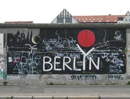 חומת ברלין - החומות היפות בעולם