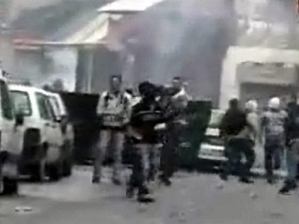 מהומות שער מוגרבי (צילום: חדשות 2)