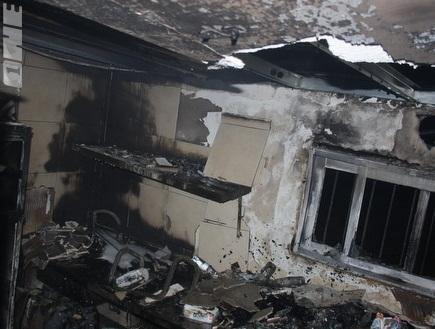 המטבחון השרוף. מעצר החשודים הוארך (גיא בן זיו) (צילום: מערכת ONE)