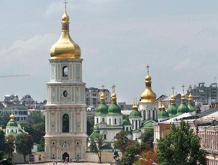 קתדרלת סנט סופיה, קייב (יח``צ: גלובס)