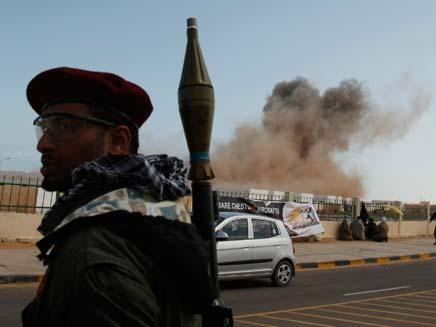 חייל עם RPG (צילום: חדשות 2)