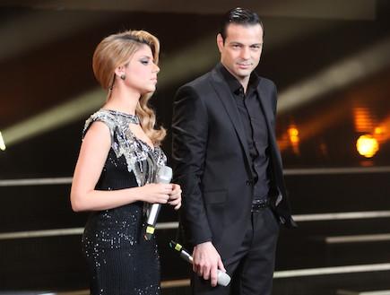 אקי אבני ושירי מימון - קדם ארוויזיון 2011 (צילום: עודד קרני)