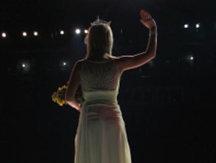 מלכת יופי - מבט מאחור (צילום: istockphoto)