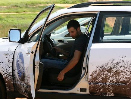 אירוע נהיגה של סובארו לסלבס (צילום: אלעד דיין)
