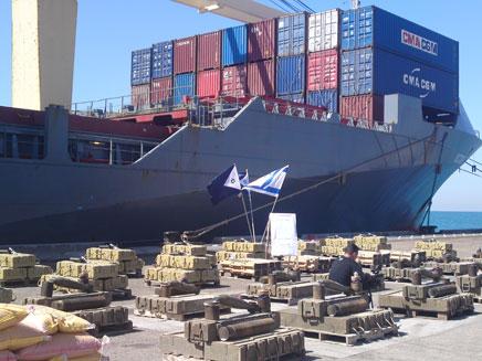 50 טונות של אמצעי לחימה. נמל אשדוד, היום