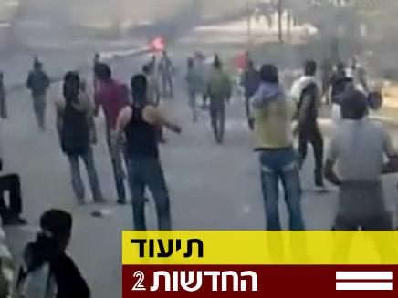 מהומות בסוריה (צילום: חדשות 2)
