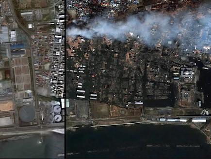 יפן לפני ואחרי (צילום: צילום מסך מאתר ABC)