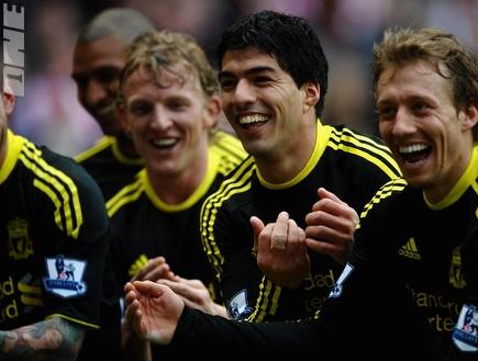 שחקני ליברפול מפרגנים ללייבה לרגל הולדת בנו (GettyImages) (צילום: מערכת ONE)