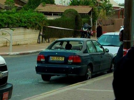 טיל גראד נפל בבאר שבע (צילום: חדשות 2)