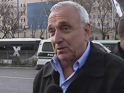 השר לביטחון הפנים, יצחק אהרונוביץ' (צילום: חדשות 2)