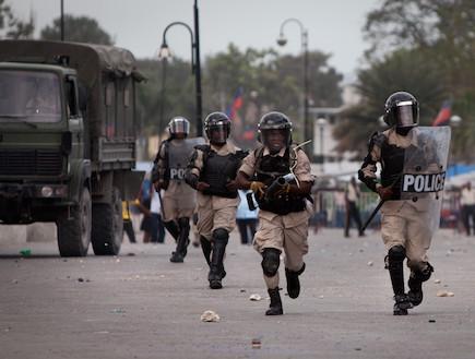 מהומות בהאיטי (צילום: Allison Shelley, GettyImages IL)