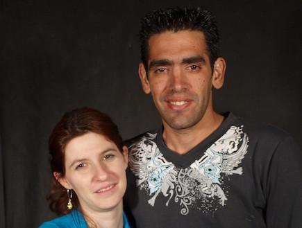 דניאל וזיו בן שוע (צילום: שי שרף)