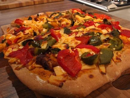 פיצה (צילום: שי שרף, 7 מנות ל-7 ימים)