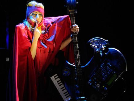 ליידי גאגא לאס וגאס (צילום: Gettyimages IL, getty images)