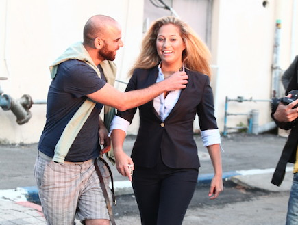 ליהיא גרינר בצילומים לישראל היום ביום שאחרי האח הגדול (צילום: אלעד דיין)