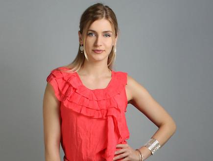 שמלת קורל - טוטאל לוק סטיילריבר (צילום: שי גולדשטיין לstyle river)