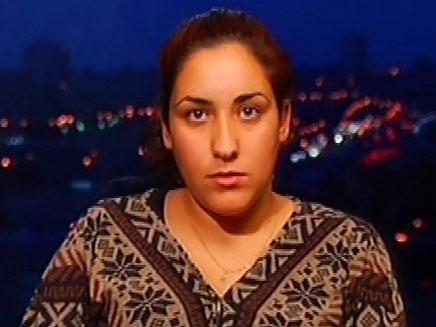 """עינב ברמי, אלמנתו של ירון ברמי ז""""ל (צילום: חדשות 2)"""