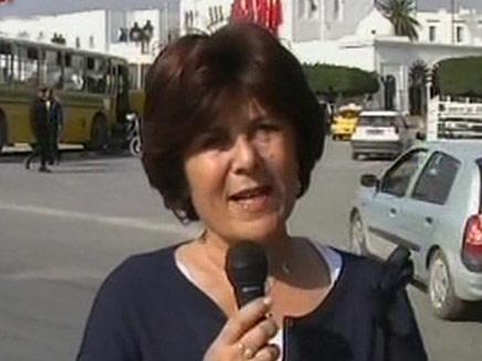 רינה מצליח עם דיווח מיוחד מתוניסיה (צילום: חדשות 2)