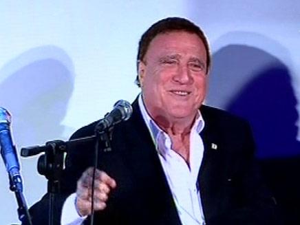 יהורם גאון בטקס פרסי השירה העברית (צילום: חדשות 2)