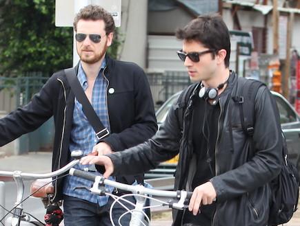 רן דנקר, אריק ברמן, אפריל 2011 (צילום: ראובן שניידר)