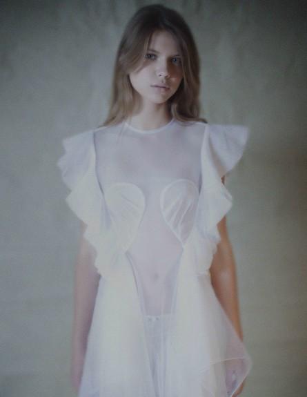"""שמלה של יוסף 7500 שקל -יוסף (צילום: דודי חסון למגזין """"Bellemode"""")"""