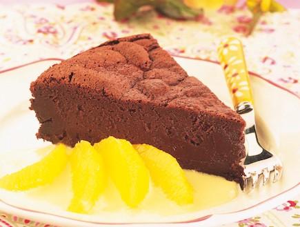 עוגת פאדג' שוקולד (צילום: קופסת המתכונים: פסח, הוצאת מודן)