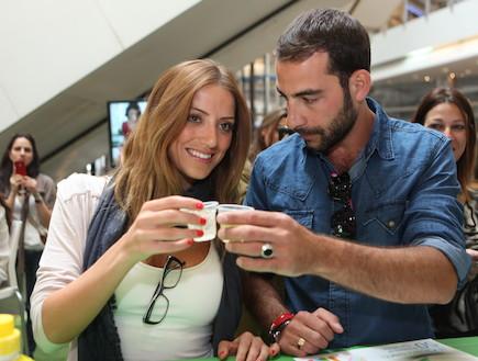 מירית וקנין ועמיר גולדברג מברמני (צילום: ראובן שניידר)