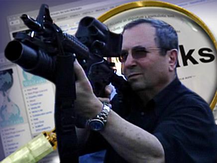 אהוד ברק ויקיליקס (צילום: חדשות 2)