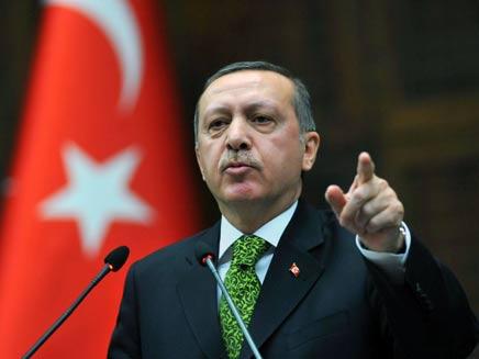 """""""טורקיה לא סובבת סביב פארק גזי"""", ארדואן (צילום: AP)"""