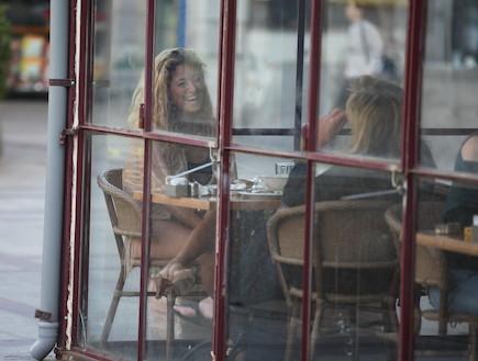 ליהיא גרינר במגדלי תל אביב עם אימא