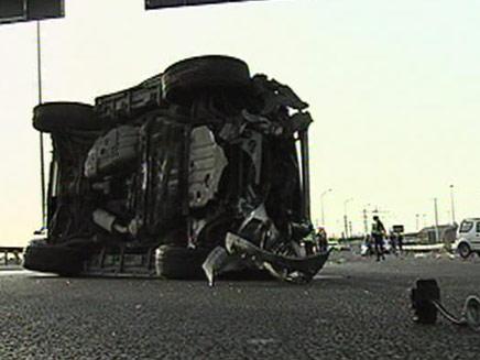 תאונה קשה בכביש 1. ארכיון