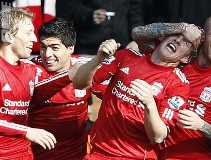 שחקני ליברפול. רגשות מעורבים לקראת המשחק (רויטרס) (צילום: מערכת ONE)