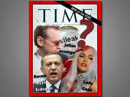"""המגזין """"טיימס"""" (צילום: עיבוד תמונה, חדשות 2)"""