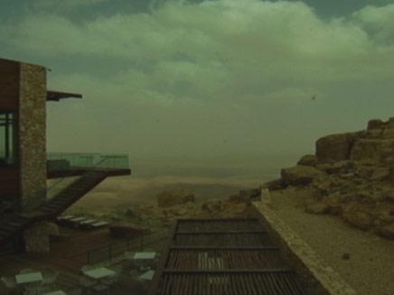 מלון בראשית, מצפה רמון (צילום: חדשות2)