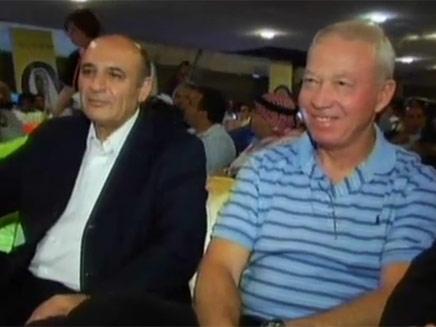 שאול מופז ויואב גלנט (צילום: חדשות 2)