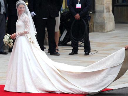 כך זה נראה בחתונה (צילום: AP)