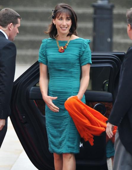 סמנת'ה קמרון בחתונה המלכותית (צילום: Pascal Le Segretain, GettyImages IL)