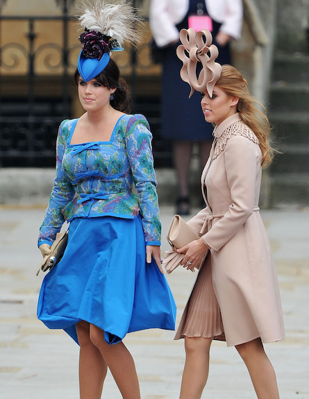 הנסיכות יוג'ין וביאטריס בחתונה המלכותית (צילום: Pascal Le Segretain, GettyImages IL)