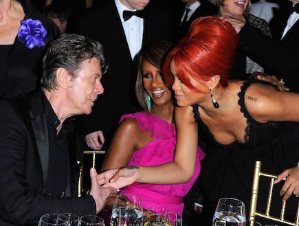 ריהאנה ודייויד בואי (צילום: Ross Kinnaird, GettyImages IL)