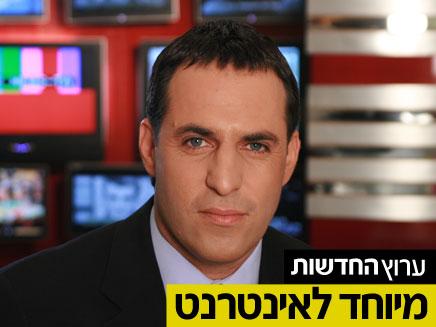 אודי סגל. ישראל בתפקיד הפולנייה (צילום: חדשות 2)