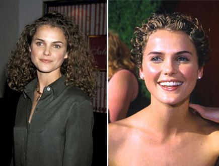 קרי ראסל  לפני ואחרי (צילום: Mike Grey, GettyImages IL)