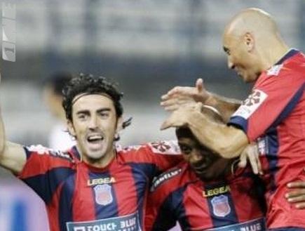 """מגרלשווילי באלקי: &""""האמת על הכדורגל בקפריסין יצאה לאור, לא להיפך&"""" (צילום: מערכת ONE)"""