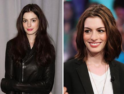 אן האתאווי לפני ואחרי (צילום: Theo Wargo, GettyImages IL)